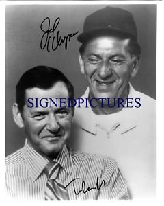 THE ODD COUPLE AUTOGRAPHED 8x10 RP PHOTO TONY RANDALL AND JACK KLUGMAN