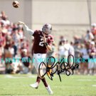 JOHNNY MANZIEL AUTOGRAPHED AUTO 8x10 RP PHOTO TEXAS A&M QB HEISMAN