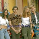 THE OC 4 CAST SIGNED AUTOGRAPHED 8X10 RP PHOTO O.C. MISCHA BARTON ADAM BRODY BILSON +