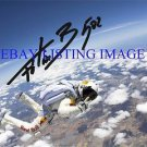 FELIX BAUMGARTNER WORLD RECORD SKY DIVE FROM SPACE AUTOGRAPHED 8x10 RP PHOTO