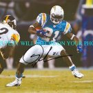 LADAINIAN TOMLINSON AUTOGRAPHED AUTO 8x10 RP PHOTO SAN DIEGO CHARGERS AWESOME