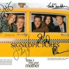 HOW I MET YOUR MOTHER CAST AUTOGRAPHED 8X10 RP PROMO PHOTO AWESOME