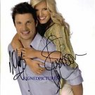 JESSICA SIMPSON AND NICK LACHEY AUTOGRAPHED 8x10 RP PHOTO BEAUTIFUL COUPLE