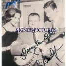 MARY TYLER MOORE DICK AND JERRY VAN DYKE AUTOGRAPHED 8x10 RP SHOW PHOTO