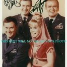 I DREAM OF JEANNIE CAST AUTOGRAPHED 8x10 RP PHOTO LARRY HAGMAN BILL DALY