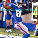 VICTOR CRUZ SIGNED AUTOGRAPHED AUTO 8x10 RP PHOTO NY GIANTS AMAZING