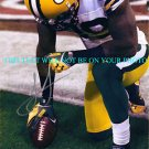 JAMES JONES AUTOGRAPHED AUTO 8x10 RP PHOTO GREEN BAY PACKERS