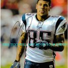 AARON HERNANDEZ AUTOGRAPHED 8x10 RP PHOTO NE PATRIOTS AMAZING TALENT