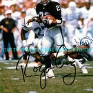 ROGER CRAIG AUTOGRAPHED 8x10 RP PHOTO OAKLAND RAIDERS LEGENDARY