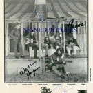 THE ALLMAN BROTHERS BAND AUTOGRAPHED 8x10 RP PHOTO BY 4
