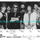 MOLLY HATCHET AUTOGRAPHED 8x10 RP PHOTO SOUTHERN ROCK