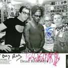 THE DEAD KENNEDYS BAND AUTOGRAPHED 8x10 RP PROMOTIONAL PHOTO