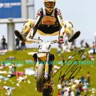 TRAVIS PASTRANA AUTOGRAPHED 8x10 RP PHOTO X GAMES NITRO CIRCUS AIRBORNE AWESOME