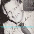 BOB UECKER AUTOGRAPHED 6x9 RP AUTO PHOTO BASEBALL MR BELVEDERE