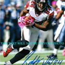 RODDY WHITE AUTOGRAPHED 8x10 RP AUTO PHOTO ATLANTA FALCONS INCREDIBLE FANTASY WR