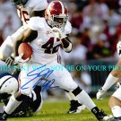 EDDIE LACY AUTOGRAPHED 8x10 RP AUTO PHOTO ALABAMA CRIMSON