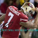 COLIN KAEPERNICK AUTO AUTOGRAPHED 8x10 RP PHOTO SAN FRANCISCO 49ers BICEP KISS
