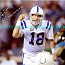 PEYTON MANNING AUTOGRAPHED AUTO 8x10 RP PHOTO INDIANAPOLIS COLTS INCREDIBLE QB