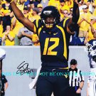 EUGENE GENO SMITH AUTOGRAPHED AUTO 8x10 RP PHOTO WEST VIRGINIA QB