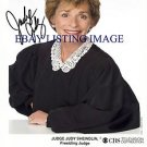 JUDGE JUDY SHEINDLIN SIGNED AUTOGRAPHED 8x10 RP PHOTO - HILARIOUS - GREAT SHOW