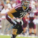 LUKE JOECKEL AUTOGRAPHED 8x10 RP PHOTO TX A&M #2 DRAFT PICK JACKSONVILLE JAGUARS