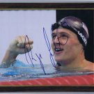 RYAN LOCHTE FRAMED AUTOGRAPHED 8x10 RP PHOTO US OLYMPIC SWIMMING TEAM CHAMPION