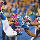 DWAYNE ALLEN AUTOGRAPHED AUTO 8x10 RP PHOTO INDIANAPOLIS COLTS