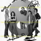 8 SIMPLE RULES SIGNED AUTOGRAPHED CAST PHOTO JOHN RITTER KALEY CUOCO KATEY SAGAL +