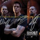 GHOST ADVENTURES CREW CAST SIGNED AUTOGRAPHED 8x10 RP PHOTO ALL 3 AARON ZAK NICK