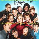 GLEE AUTOGRAPHED CAST 8x10 RP PHOTO BY7 CORY MONTEITH LEA MICHELE CHRIS COLFER +
