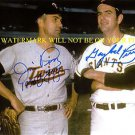JIM AND GAYLORD PERRY AUTOGRAPHED AUTO 8x10 RP PHOTO BASEBALL BROTHERS CY YOUNG
