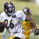 LE'VEON BELL SIGNED AUTOGRAPHED AUTO 8x10 RP PHOTO PITTSBURGH STEELERS LEVON LEVEON