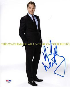 MICHAEL WEATHERLY AUTOGRAPHED AUTO 8x10 RP PHOTO NCIS GQ BULL CAST
