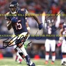 JAY CUTLER AND BRANDON MARSHALL CHICAGO BEARS AUTOGRAPHED AUTO 8x10 RP PHOTO