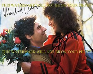FLASHDANCE CAST JENNIFER BEALS AND MICHAEL NOURI AUTOGRAPHED 8x10 RP PHOTO