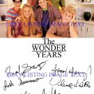 THE WONDER YEARS CAST SIGNED AUTOGRAPHED 6x9 RP PROMO PHOTO FRED SAVAGE OLIVIA D'ABO +