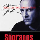 JAMES GANDOLFINI TONY SOPRANO AUTOGRAPHED 8x10 RP PHOTO THE SOPRANOS
