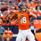 PEYTON MANNING SIGNED AUTO AUTOGRAPHED 8x10 RP PHOTO DENVER BRONCOS QB LEGENDARY PLAYER