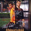 UNNATURAL HISTORY CAST SIGNED AUTOGRAPHED RP PHOTO SCHMIDT RICCI +