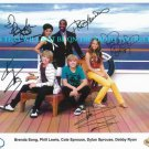 THE SUITE LIFE ON DECK CAST AUTOGRAPHED 8x10 RP PHOTO COLE DYLAN  ALL 5