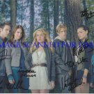 THE SECRET CIRCLE CAST SIGNED 8x10 PHOTO BY 7 NATASHA HENSTRIDGE BRITT ROBERTSON