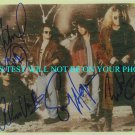 VAN HALEN SIGNED AUTOGRAPHED RP PHOTO with SAMMY HAGAR