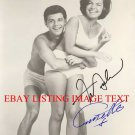 ANNETTE FUNICELLO AND FRANKIE AVALON AUTOGRAPHED 8x10 RP PHOTO SUMMER FUN