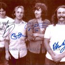 DAVID CROSBY STEPHEN STILLS GRAHAM NASH AND NEIL YOUNG AUTOGRAPHED 8x10 RP PHOTO