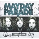 MAYDAY PARADE GROUP SIGNED AUTOGRAM AUTOGRAPHED 8x10 RP PHOTO ALL 5 DEREK BROOKS ALEX JEREMY