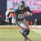 HAKEEM NICKS AUTOGRAPHED 8x10 RP PHOTO NY GIANTS GREAT RECEIVER