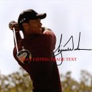TIGER WOODS AUTOGRAPHED AUTO 8x10 RP PHOTO  GOLF LEGEND