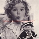 SHIRLEY TEMPLE 8x10 CLASSIC VINTAGE PHOTO WHISTLE