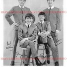 THE BEATLES AUTOGRAPHED 8x10 RP PHOTO FAB 4 JOHN LENNON PAUL GEORGE AND RINGO