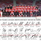TEAM CANADA MENS OLYMPIC HOCKEY SIGNED AUTOGRAPHED BY 26 8x10 RP PHOTO SOCHI 2014